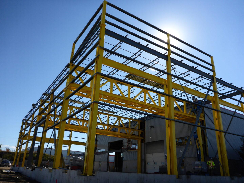 steel metal building